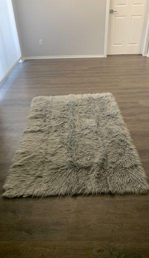 Grey Fuzzy Carpet for Sale in Longmont, CO