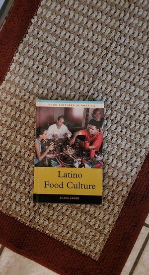 Latino Food Culture Book for Sale in Kennewick, WA