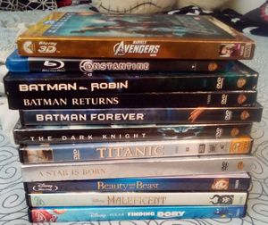 Bundle Of 11 DVDs And Blu Rays for Sale in Fresno, CA