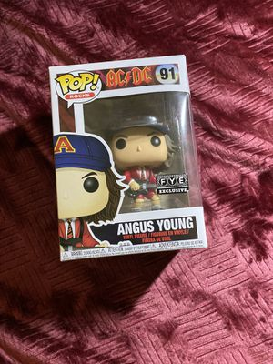 Funko Pop - Angus Young Red Jacket for Sale in Los Angeles, CA