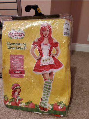 Adult Strawberry Shortcake (Size: Medium 6-8) for Sale in Los Angeles, CA