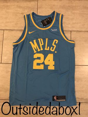Los Angeles Lakers Kobe Bryant Baby Blue MPLS Jersey Men's size X-Large for Sale in Montclair, CA