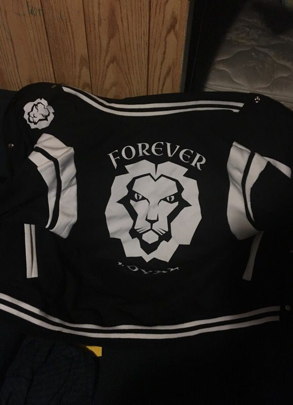 ForeverLoyal Fleece Varsity Jacket Size Large
