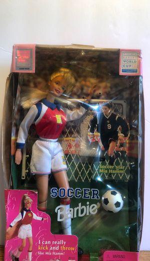 1999 FIFA Women's World Cup Soccer Barbie for Sale in Riverside, NJ