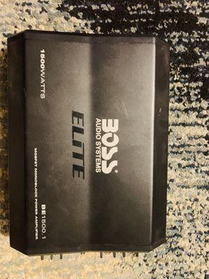 Boss audio for Sale in Lemoore, CA