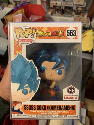Funko Pop! Dragon Ball Super (SSGSS Goku Kamehameha - 563) for Sale in San Francisco, CA