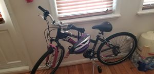 Girls bicycle with helmet for Sale in Glen Burnie, MD