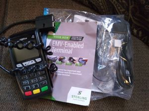 Qty.2 POS SYSTEMS /CARD & CHIP READERS. for Sale in Las Vegas, NV