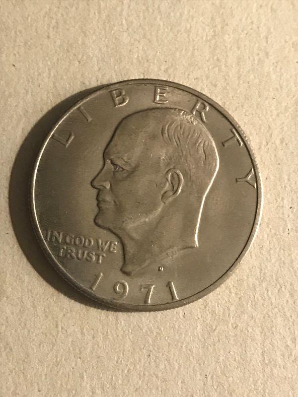 Eisenhower /one dollar 6 pieces different date
