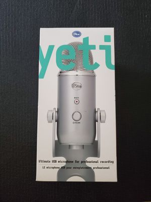 Blue Yeti Microphone for Sale in Vancouver, WA