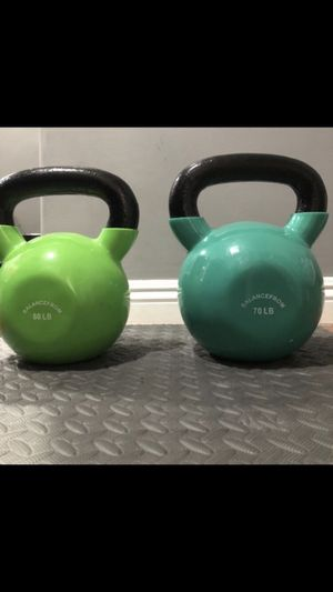 Kettlebells 60lbs and 70lbs for Sale in Rosemead, CA
