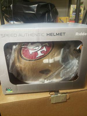 Authentic SF 49ers football helmet for Sale in La Mesa, CA