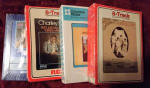 Four brand-new 8-track cartridges for Sale in Peoria, IL