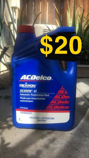 ACDelco Dexron 6 transmission fluid for Sale in Riverside, CA