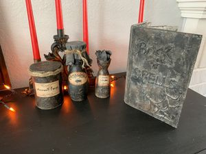 Halloween Book of Spells and Halloween Potions for Sale in Bloomington, CA