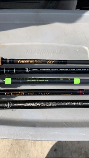 Shimano and Gloomis fishing rods for Sale in Santa Ana, CA