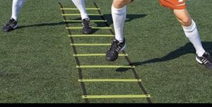 Brand new Super Flat Rungs Adjustable Speed Agility Ladder with Free Carry Bag. for Sale in Frisco, TX