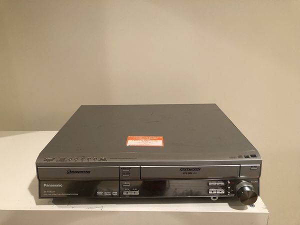 Panasonic SA-HT833V DVD/ VHS Home Theatre
