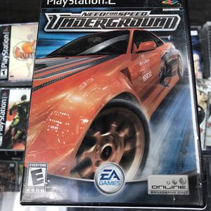 Need For Speed Underground Ps2 $25 Gamehogs 11am-7pm for Sale in Bell Gardens, CA