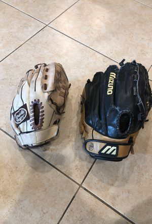 Baseball/Softball Gloves for Sale for Sale in Pico Rivera, CA