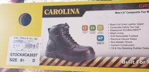 "Carolina Mens 6"" Waterproof Broad Toe Work Boot for Sale in Richmond, CA"