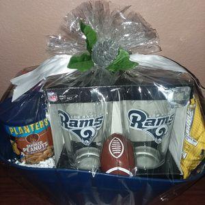 LA Rams Gift Basket for Sale in Jurupa Valley, CA