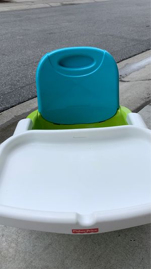 Fisher-Price Healthy Care Booster Seat, Green/Blue for Sale in San Francisco, CA