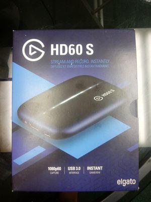 Elgato HD60s W/ Elgato Chat Link for Sale in Colton, CA