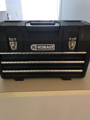 Kobalt tool box with tools for Sale in Youngsville, NC