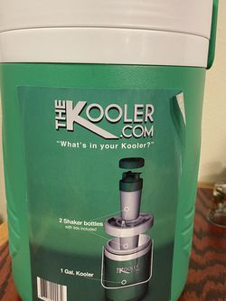 The KOOLER Portable Cooler And Shaker Cups for Sale in Tacoma,  WA