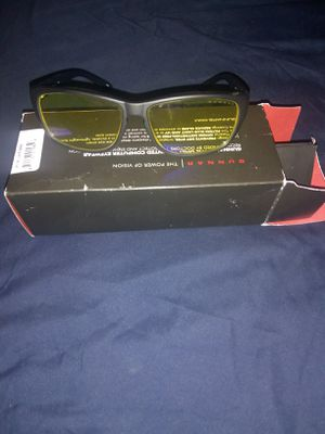 Gunnar MICRON Computer / Gaming Glasses - Onyx Frame / Amber Lens for Sale in Denver, CO