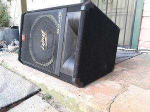 400-watt sp5g Peavey PA speaker cabinet for Sale in Dallas, TX