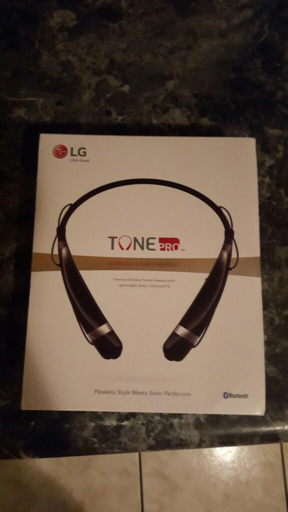 Bluetooth headphones lg tone pro