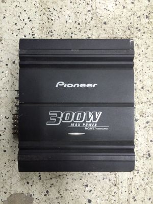 Pioneer car amp for Sale in Pittsburgh, PA