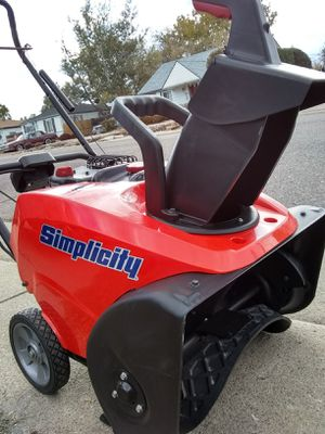 Simplicity Snow Blower for sale| 59 ads