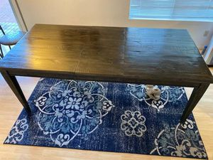 Living Spaces 82-inch wood rectangular dining table for Sale in San Diego, CA