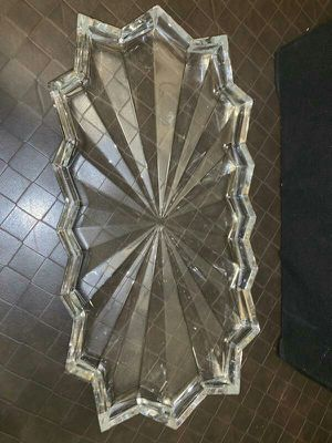 Beautiful Crystal cheese tray for Sale in Winter Haven, FL