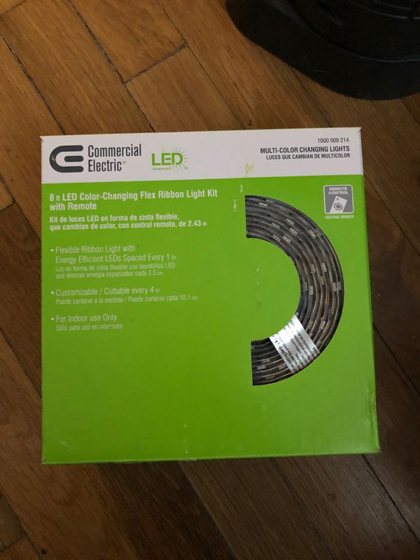 Commercial Electric LED flex light kit