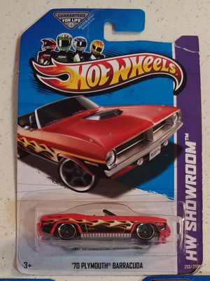 '70 PLYMOUTH BARRACUDA 2013 HOT WHEELS HW SHOWROOM (SEE OTHER POSTS) for Sale in El Cajon, CA
