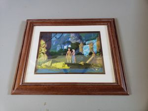 Atlantis Framed Lithograph - Disney Limited Edition for Sale in Tracy, CA