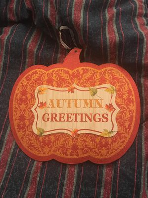 Free Autumn Greetings sign for Sale in San Diego, CA