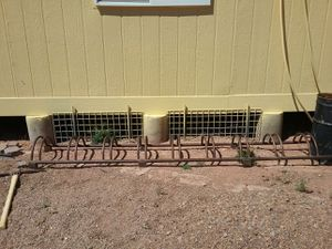 Iron bicycle rack for Sale in Taylor, AZ