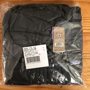 Patagonia Nano Puff Hood Mens Size Large Forge Grey Color in Original Packaging $249 Retail for Sale in Hawthorne, CA