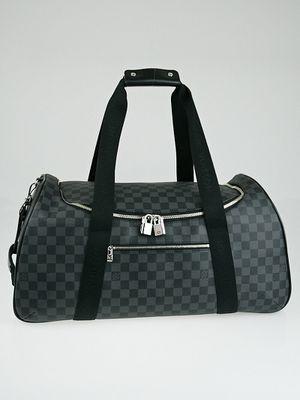 Louis Vuitton Neo Eole 55 Damier Graphite Rolling Duffle Bag Black for Sale in Frisco, TX
