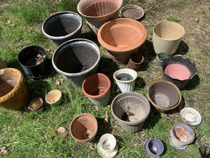 Assorted pots for plants for Sale in Manassas, VA