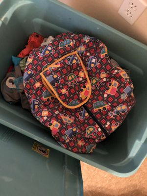 Huge tub of baby boy clothes for Sale in Columbus, MS