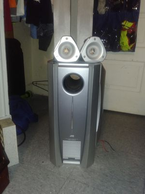 JVC sourrourd sound speakers for Sale in Quincy, IL