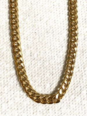 14k solid Gold Cuban link, 28 inches Long for Sale in Waterbury, CT
