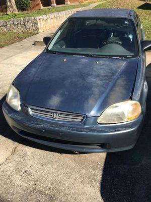 1998 Honda Civic ❗ Runs good ❗ 300k Miles ❗ Needs new Paint Job ❗ for Sale in Milledgeville, GA
