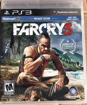 PS3 farcry 3, perfect condition for Sale in Bradenton, FL